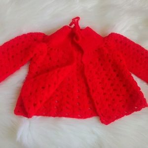 Other - INFANT HAND KNITTED SWEATER